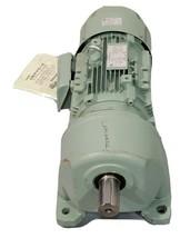 NEW TSUBAKIMOTO CHAIN CO. TE220B INDUCTION MOTOR W/ GMTE220-42L5B GEAR MOTOR