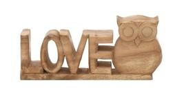 TRENDY WOOD LOVE OWL - $34.51