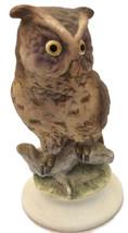 Vintage Lefton Owl Figurine, Collectible Porcelain Owl - $9.99
