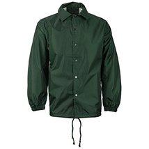 Renegade Sportswear Men's Lightweight Water Resistant Windbreaker Coach Jacket (