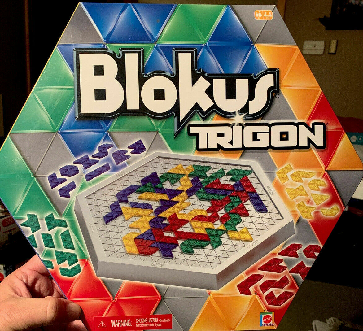 Primary image for Blokus Trigon Board Game Educational Insights 2006 COMPLETE