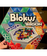 Blokus Trigon Board Game Educational Insights 2006 COMPLETE  - $1.045,14 MXN