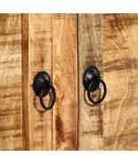 vidaXL Solid Mango Wood Sideboard Storage Side Wooden Cabinet Cupboard Home - $330.99