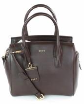 DKNY Donna Karan Dark Brown Leather Top Handle Bag Medium Handbag RRP £265 - $238.93