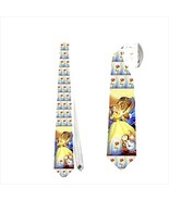 necktie tie beauty and the beast bella bela rose