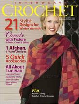 Interweave Crochet magazine Winter 2009: tunisian, ruana, grog, afghan, textures - $15.95