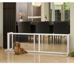 Pet Gate Richell Freestanding Large Brown FREE ... - $118.73