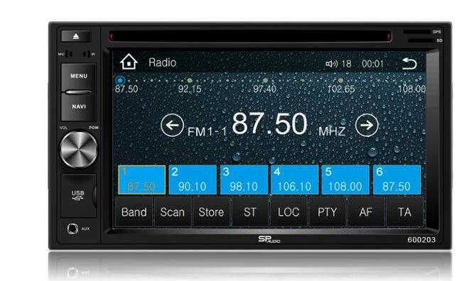 DVD GPS Navigation Multimedia Bluetooth Radio and Dash Kit for Pontiac G3 2009 image 5