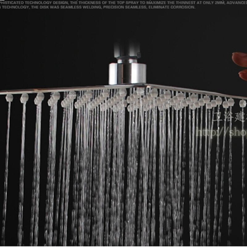 "fmhjfisd 8"" Chrome Brass Shower Head Over-head Sprayer Top Shower Head Wall / Mo"