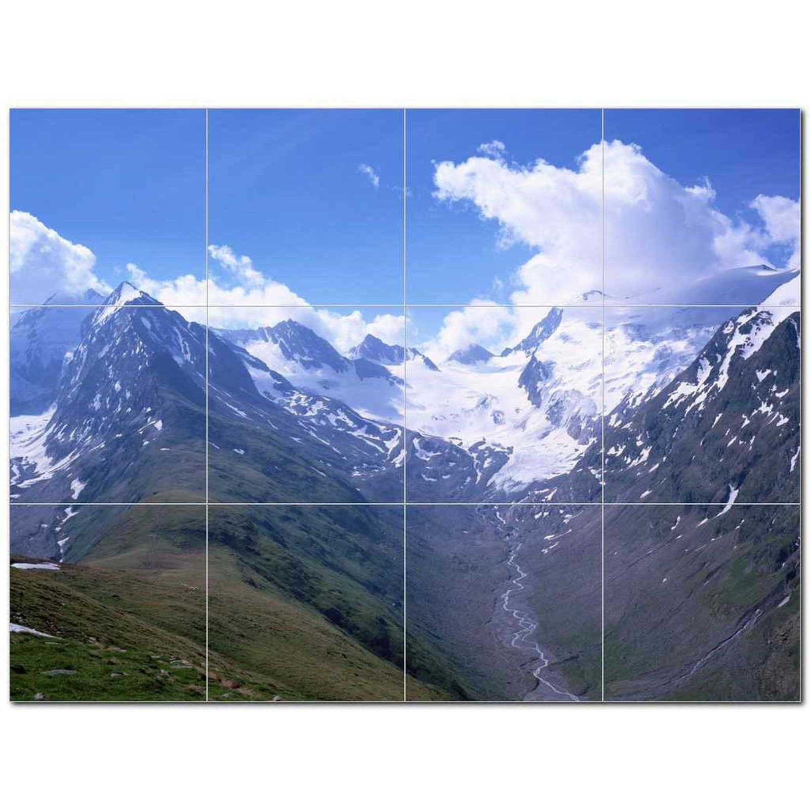 Primary image for Mountain Picture Ceramic Tile Mural Kitchen Backsplash Bathroom Shower BAZ405565