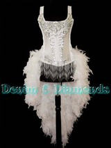 Pick Size & Color-Feature Entertainer Theater Feather Costume Moulin Bur... - $249.99