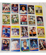 Mixed lot approx 2000 pc 1980's-1990's Baseball cards Cards Trading orga... - $70.49