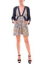 Free People Women's Talulla Printed Mini Dress Navy Combo Size XS RRP £9... - $90.18