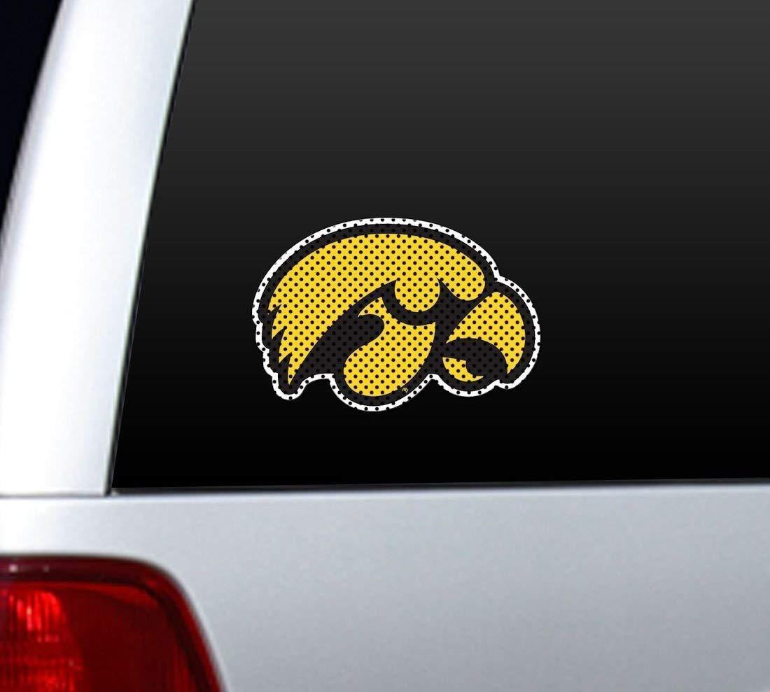 *BIG* IOWA HAWKEYES CAR AUTO HOME PERFORATED WINDOW FILM DECAL