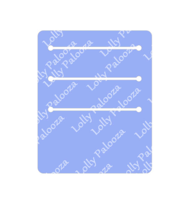 Tag Holder DIGITAL File.  Instant Download:  PNG, SVG Files.  No Physical Items