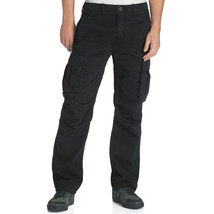 New Levis Tab Twills Straight Fit Zipper Fly Black Men's Cargo Pants 006751004 - $19.97