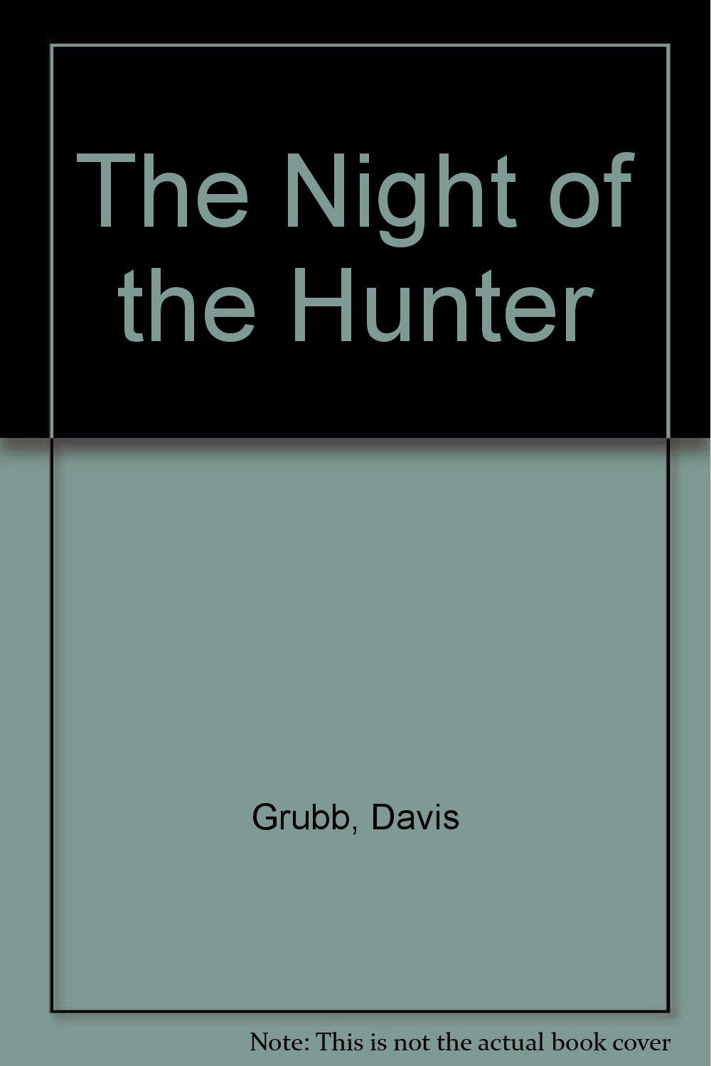character analysis the preacher from davis grubbs the night of the hunter Adapted by james agee from a novel by davis grubb, the night of the hunter represented legendary actor charles laughton's only film directing effort.