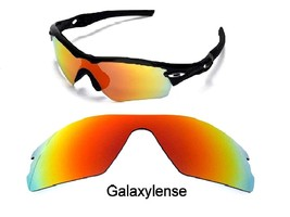 Galaxy Replacement Lenses For Oakley Radar Path Sunglasses Red - $27.45