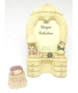 Home For ALL The Holidays Victorian Dresser 3D Poly Resin Photo Frame 4.... - $29.70