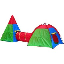 GigaTent Action Dome and Tepee with Tunnel Play Tent Set Easy to Set Up - $42.58