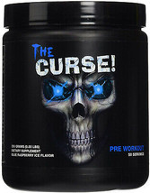 Cobra Labs  THE CURSE Blue Raspberry Ice Flavor 50 servings Pre-Workout ... - $27.77