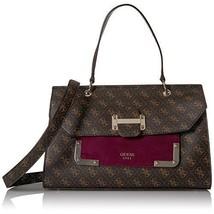 GUESS Bag Handbag For Women Shoulder Bag Brown/Multi Synthetic Birthday ... - $149.57