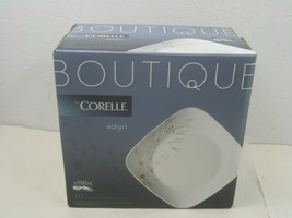 Sixteen (16) Piece Boutique By Corelle Glass Corning Ware Square Adlyn S... - $84.11