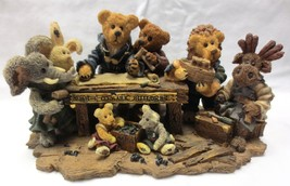 Boyds Bears Bearstone Noah & Co Ark Builders Limited Edition 1996 Boxed - $35.00
