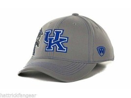 Kentucky Wildcats TOW NCAA Team Logo Sketched Gray Stretch Fit Cap Hat OSFM - $18.04
