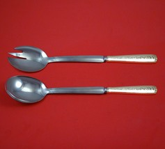 Rambler Rose by Towle Sterling Silver Salad Serving Set Modern Custom 10... - $149.00