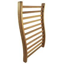 HSE Cedar S-Shape Sauna Backrest 1, Red Cedar - $57.78