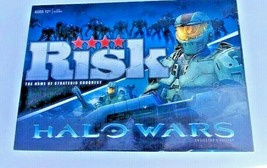 Risk Halo Wars Board Game Collectors Edition Complete USAopoly 2009 - $48.00