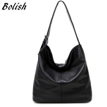 European and American Style PU Leather Top-handle Bag Fashion Larger Shoulder Ba - $51.37