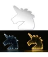 Creative Cute Unicorn Mirror Lamp LED Tunnel Night Light for Kid Atmosph... - $15.80