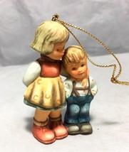 "Berta Hummel Goebel 1997 Little Brother Figurine 2 ¾"" Christmas tree Orn... - $18.80"