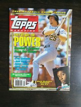 Topps Magazine Summer 1992 Mark McGuire with Cards & Posters Tom Seaver - $6.64