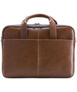 Blackweb Messenger Bag, Brown Vegan Leather - $98.99