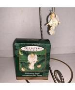 Hallmark Keepsake Ornament Miniature Welcoming Angel 2000 - $5.00