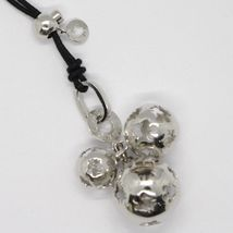 Necklace with Silver Pendant 925 with 3 Mexican Bola Roberto Giannotti SFA25N image 3