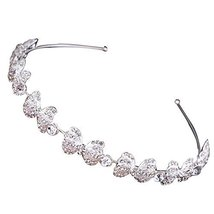 Luxury Noble Diamond Hair Hoop Headdress Headband