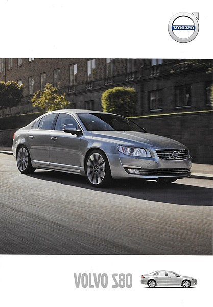 2015.5-2 Volvo S80 sales brochure catalog folder US T5 T6 AWD