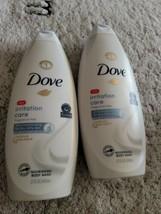 Dove Body Wash Irritation Care Ultra Moisturizing 22 oz Dry Itchy Eczema 2 Pack  - $12.82