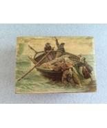Pretty Blue Danube La Traviata Swiss Music Box Thorens Vintage 2/28 - $99.00