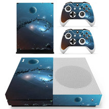 Space Planet xbox one S console and 2 controllers - $15.00