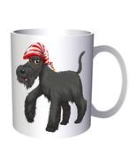 Merry Christmas Dog Smile Funny Gift 11oz Mug g921 - $10.83