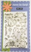 "Hero Arts Anyone Can Stamp ""Happy Day Animals"" Stamp Set CL153 - $12.55"