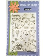 """Hero Arts Anyone Can Stamp """"Happy Day Animals"""" Stamp Set CL153 - $12.55"""