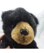 "Bearington Collection Black Plush Beans Baby Bear 10""  - $15.76"
