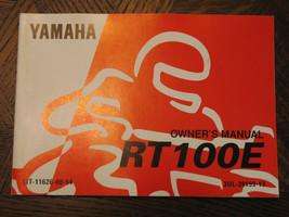 93 Yamaha RT100E RT100 E Rt 100 100E Nos Oem Owner's Driver's Manual - $71.99