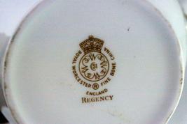 Royal Worcester Regency Blue Creamer #21686 image 6